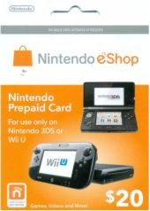 Nintendo Prepaid Card US$20 for US network only (email ship)
