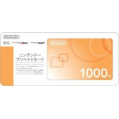 3DS/Wii/NDSI Points 1000 yen Prepaid Card (email freeshipping)