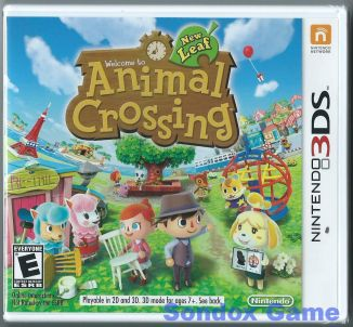 Animal Crossing: New Leaf US 3DS