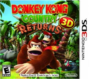 Donkey Kong Country Returns 3D US 3DS
