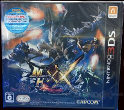 Monster Hunter XX /w DLC JAPAN 3DS