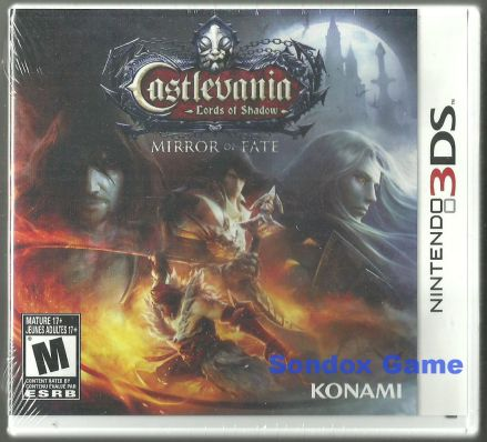 Castlevania: Lords of Shadow - Mirror of Fate US 3DS