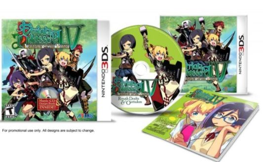 Etrian Odyssey IV: Legends of the Titan /w Music & Art US 3DS