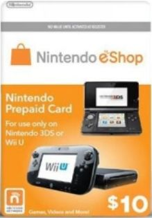 Nintendo Prepaid Card US$10 for US network only (email ship)