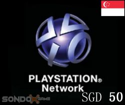 PlayStation Network Singapore SGD 50 Card (Email Freeshipping)