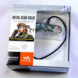 Metal Gear Solid Peace Walker Sony Walkman NWZ-W252 2GB