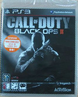 Call of Duty Black Ops 2 Korean Version English Lang PS3