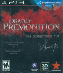 Deadly Premonition: The Director's Cut PS3