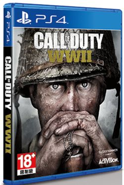 Call of Duty: WWII Chinese/English PS4