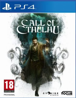 Call of Cthulhu EU Chinese/English subtitle PS4