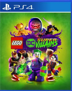 LEGO DC Super-Villains AS Chinese/English PS4