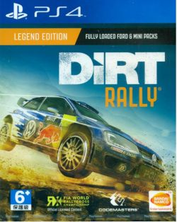 Dirt Rally Asia English PS4