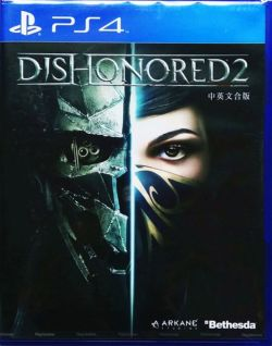 Dishonored 2 Asia Chinese/English subtitle PS4