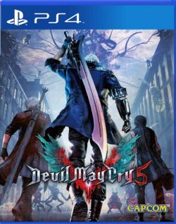 Devil May Cry 5 AS Chinese/English PS4 PreSale