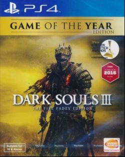 Dark Souls III The Fire Fades Edition English/Chinese PS4