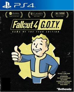 Fallout 4 Game of the Year Edition English/Chinese PS4