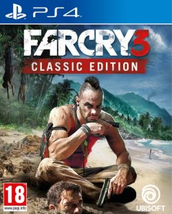 Far Cry 3 Classic Edition Chinese/English subtitle PS4
