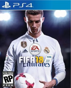 FIFA 18 Chinese/English subtitle PS4