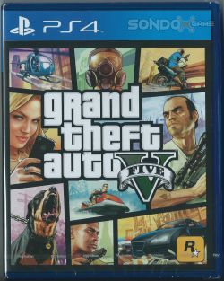 Grand Theft Auto V CHI/ENG PS4