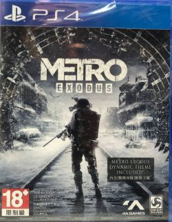 Metro Exodus AS English & Chinese Subs PS4