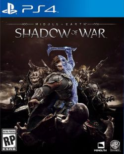 Middle-earth: Shadow of War Chinese/English PS4