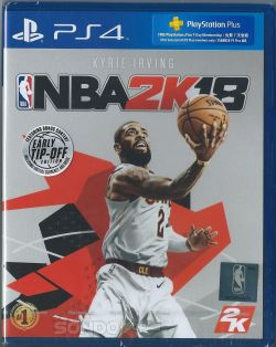 NBA 2K18 Chinese/English subtitle PS4