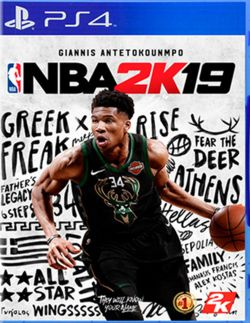 NBA 2K19 Chinese/English subtitle PS4