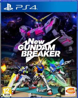 New Gundam Breaker Chinese subtitle PS4
