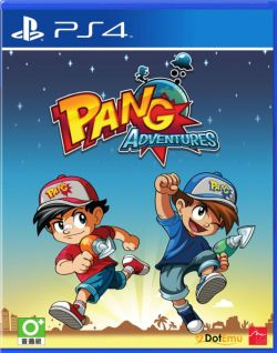 Pang Adventures AS Chinese/English subtitle PS4
