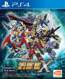 Super Robot Wars X English subtitle /w steelbook PS4