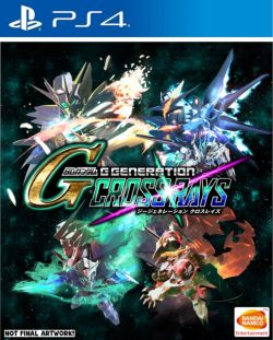 SD Gundam G Generation Cross Rays AS Chinese etc sub PS4 PreSale