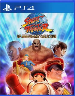 Street Fighter: 30th Anniversary Collection Asia English PS4 - Click Image to Close