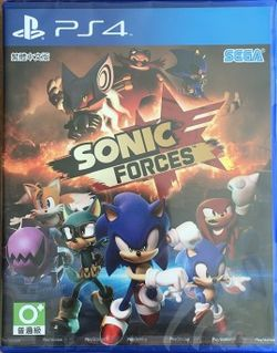 Sonic Forces AS Chinese PS4