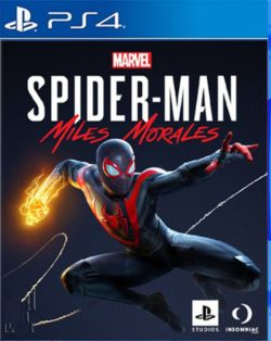 Marvel's Spider-Man: Miles Morales AS Chi/Eng PS4