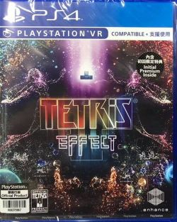 Tetris Effect AS Chinese/English subtitle PS4