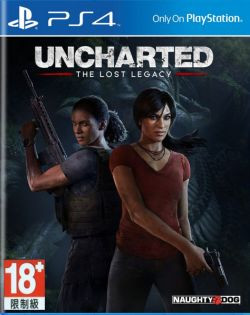 Uncharted The Lost Legacy AS Chinese/English PS4