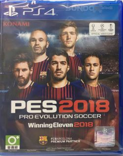 Pro Evolution Soccer 2018 Chinese/English sub AS PS4