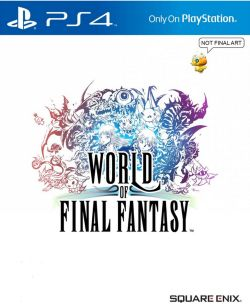 World of Final Fantasy (Chinese) /w DLC PS4
