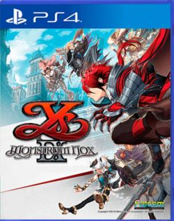 Ys IX: Monstrum Nox Chinese Subtitle PS4