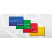 PlayStation Network 1000 Yen Japan Card (Email Freeshipping)