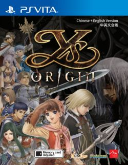 Ys Origin AS Multi Language PSVita
