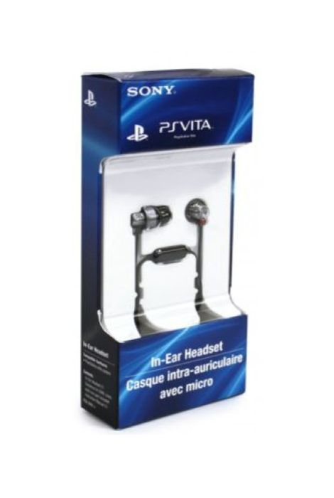 PS Vita PlayStation Vita Wired In-Ear Headset PSV