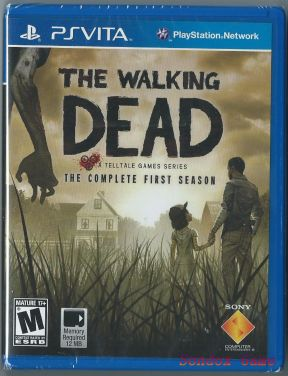 The Walking Dead - A TellTale Games Series US PSV
