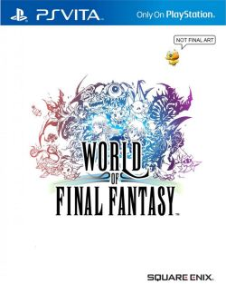 World of Final Fantasy (Chinese) /w DLC PSVita