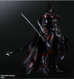 SQUARE ENIX DC COMICS VARIANT PLAY ARTS KAI BATMAN RED