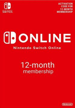 Nintendo Switch Online 12-Month Individual Membership Hong Kong