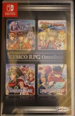 Kemco RPG Omnibus AS Japanese/English NS