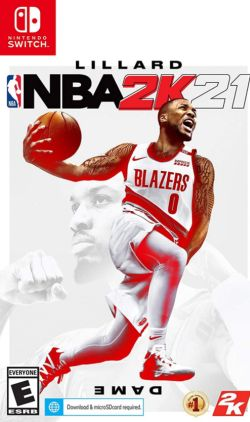 NBA 2K21 Chinese/English NS