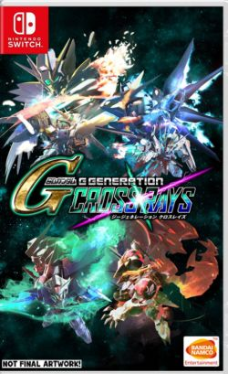 SD Gundam G Generation Cross Rays AS Chinese etc sub NS PreSale