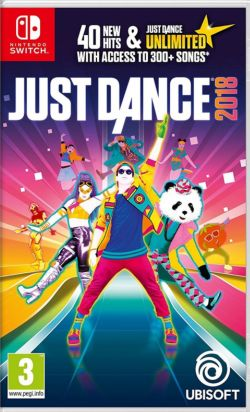 Just Dance 2018 Chinese/English UK NS